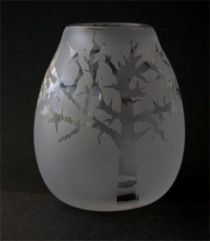 Blown and Etched Glass