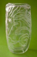 Blown and Engraved Glass