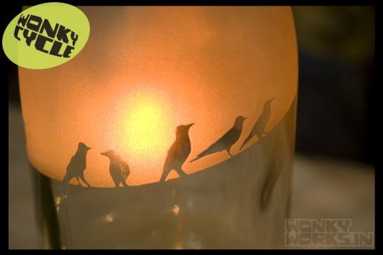 bottle light - bird, INR 2500