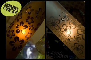 bottle light - flower, INR 2500