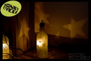 bottle light - star, INR 2500