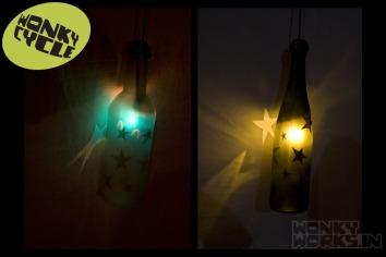 bottle light - star, INR 2500