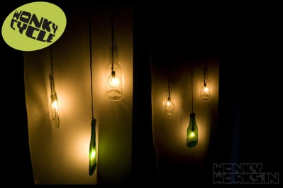 flat bottle lamp, INR 2000 each