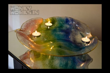 rainbow platter (big) INR 6500
