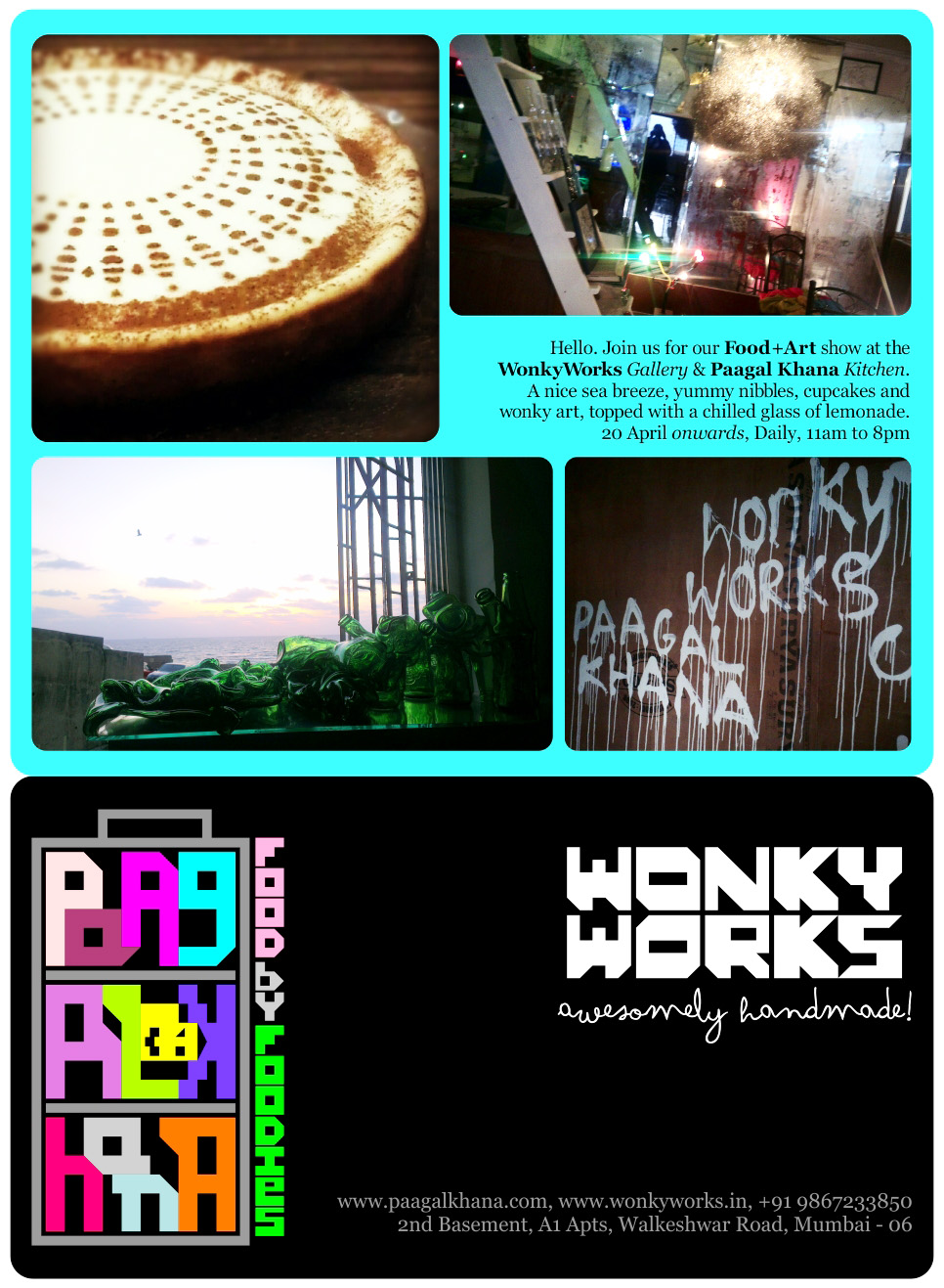 Wonky in Mumbai :)