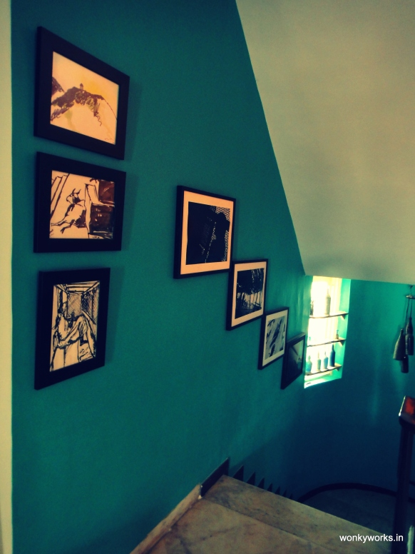 sketches and photographs at the WonkyGallery