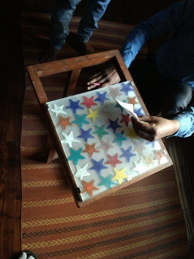 upcycling an old table